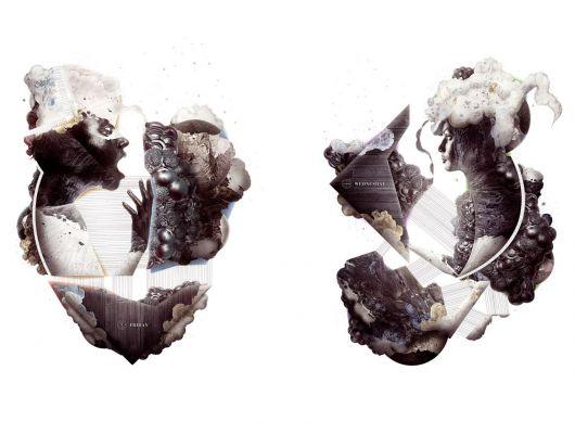 Обои art P151101-8 Флизелин Mr Perswall Швеция, Expressions, Фотообои