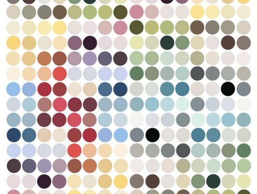 Детские фотообои с изображением ярких цветных кругов, Expressions, Детские обои, Детские фотообои, Фотообои