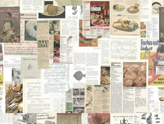 Обои art P160901-4 Флизелин Mr Perswall Швеция, Nostalgic, Обои для кухни, Фотообои