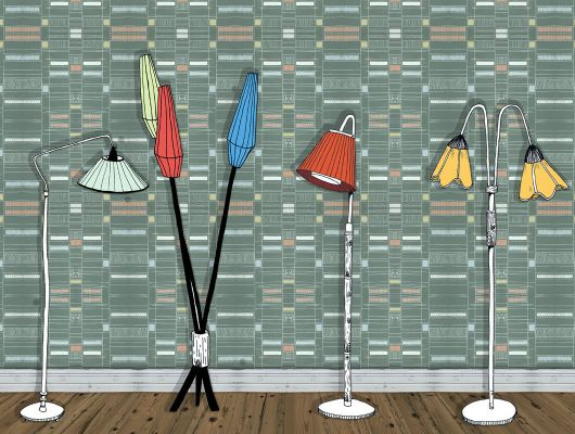 Обои art P162606-W Флизелин Mr Perswall Швеция, Nostalgic, Индивидуальное панно