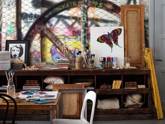 Обои art P200901-8 Флизелин Mr Perswall Швеция, Street Art, Фотообои