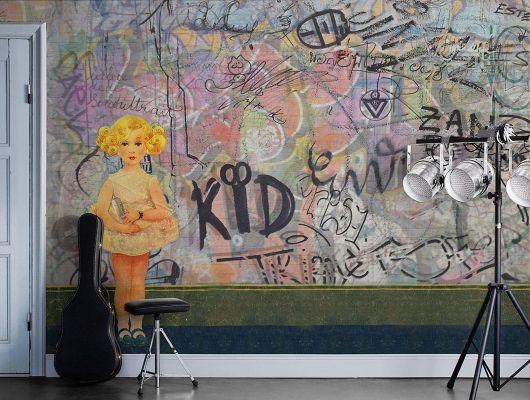 Обои art P201801-8 Флизелин Mr Perswall Швеция, Street Art, Фотообои
