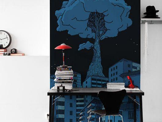 Обои art P202301-3 Флизелин Mr Perswall Швеция, Street Art, Фотообои