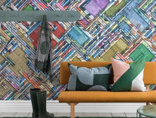 Обои art P251501-8 Флизелин Mr Perswall Швеция, Underground, Дизайнерские обои, Фотообои
