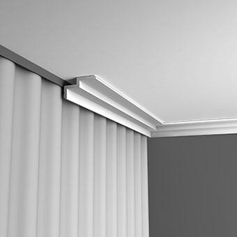 Карниз C390 - Steps  Orac Decor , Orac decor, Карнизы, Лепнина и молдинги, Назначение, Профили для штор