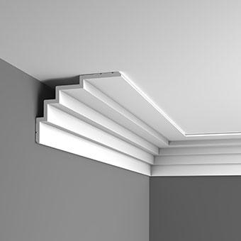 Карниз C393 - Steps  Orac Decor , Orac decor, Карнизы, Лепнина и молдинги, Назначение