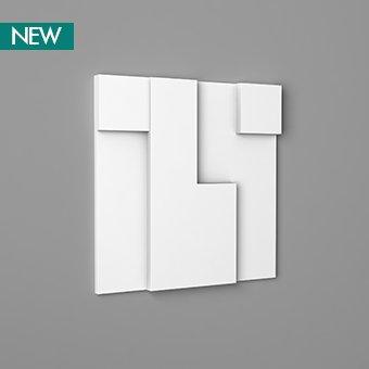 3D Wall Panel W102 - Cubi, 3D Walls Panels, Orac decor, Декоративные элементы, Лепнина и молдинги, Назначение