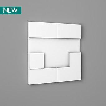 3D Wall Panel W103 - Cubi, 3D Walls Panels, Orac decor, Декоративные элементы, Лепнина и молдинги, Назначение