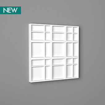 3D Wall Panel W104 - Kilt, 3D Walls Panels, Orac decor, Декоративные элементы, Лепнина и молдинги, Назначение