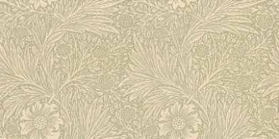 Купить обои для коридора Marigold арт. 216837 из коллекции Compilation Wallpaper от Morris в спокойном зеленом оттенке на сайте odesign.ru, Compilation Wallpaper, Обои для гостиной, Обои для кабинета